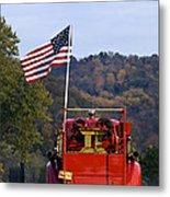 Bethlehem Fire Truck - D008199 Metal Print by Daniel Dempster