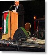 Bethlehem Mayor Dr. Victor Batarseh Metal Print