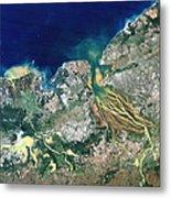 Betsiboka Estuary, Madagascar Metal Print