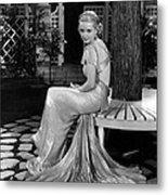 Bette Davis In The 1930s Metal Print by Everett
