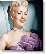 Betty Grable, Ca. 1950s Metal Print