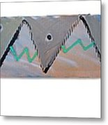 Between The Mountains And The Fishes Metal Print
