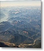 Between Vancouver And Kelowna Bc Canada Metal Print