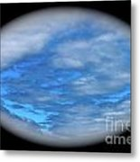 Beyond The Clouds Metal Print