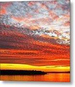 Beyond The Sunset And The Sea Metal Print