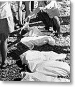 Bhopal Disaster Victims, India, 1984 Metal Print