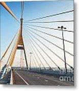 Bhumipol Bridge Metal Print