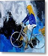 Bicycle 77 Metal Print