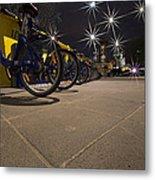 Bicycle Lane Metal Print