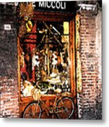 Bicycle Metal Print by Marshall Swerman
