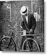 Bicycle Radio Antenna, 1914 Metal Print by