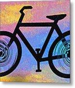 Bicycle Shop Metal Print