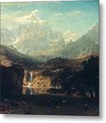 Bierstadt: Rockies Metal Print by Granger