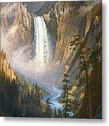 Bierstadt: Yellowstone Metal Print by Granger