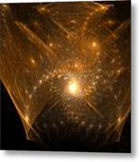 Big Bang Unfolding Metal Print