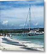 Big Beautiful Boat Metal Print