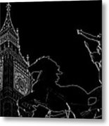 Big Ben And Boudica Metal Print