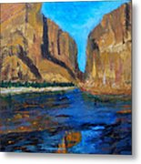 Big Bend Metal Print