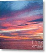 Big Florida Sunset Metal Print