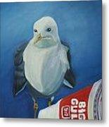 Big Gull Metal Print by Amy Reisland-Speer