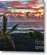 Big Island Sunrise Metal Print