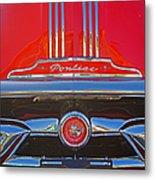 Big Red Pontiac Metal Print