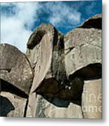 Big Rock Ear Metal Print