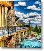 Big Sky Ski Resort Montana Metal Print