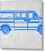 Big Van Metal Print by Naxart Studio