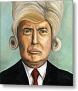 Big Wig Part 1 Metal Print