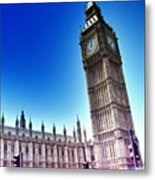 #bigben #uk #england #london2012 Metal Print