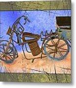 Bike 2a Metal Print