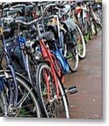 Bike Frenzy Metal Print