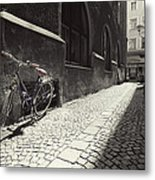 Bike Metal Print by Mark Wagoner