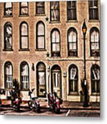 Bikers Rest Metal Print