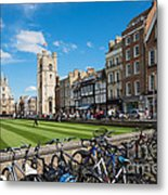 Bikes Cambridge Metal Print