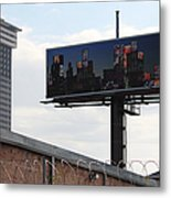 Billboard Art Project 2011 Metal Print