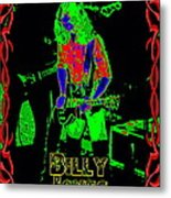 Billy Gets Psychedelic Metal Print