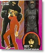 Bionic Bigfoot Metal Print