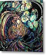 Bird And Flowers Metal Print by YoMamaBird Rhonda
