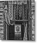 Bird Flew Out The Window Metal Print