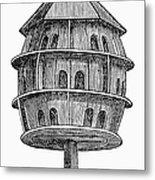 Birdhouse, 19th Century Metal Print