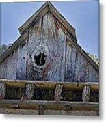 Birdhouse In Cambria Metal Print