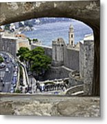 Bird's Eye View Of Dubrovnik Metal Print