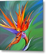Birds Of Paradise 1 Metal Print