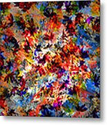Birth Of Colors Metal Print