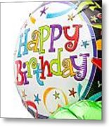Birthday Balloons Metal Print by Tom Gowanlock