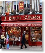 Biscuits And Calvados Metal Print