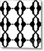Black And White No.180. Metal Print