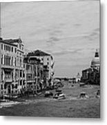 Black And White Venice 3 Metal Print